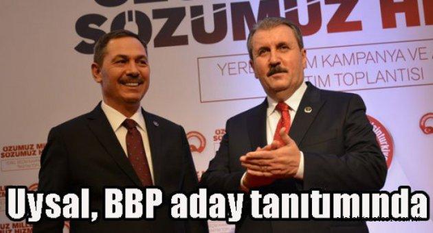 BBP aday tanıtımı yapıldı