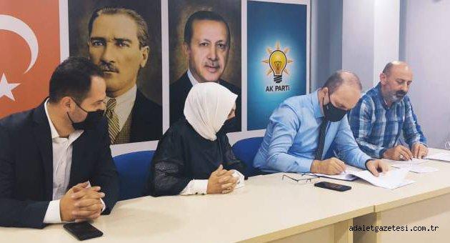 AK Parti Merkez İlçe Yönetimi Toplandı