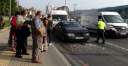 Hamile Kadın Kazada Yaralandı